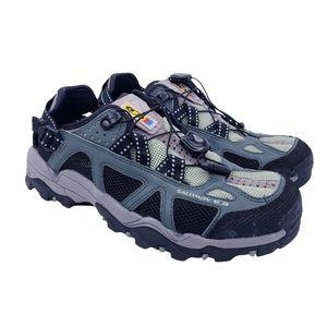 Salomon Green Tech Amphibian Contragrip Trail Hiking Water Shoes Women's Size 9